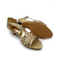 Toyo Shoes Heels For Women Golden (1008)