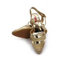 Toyo Shoes Heels For Women Golden (65)