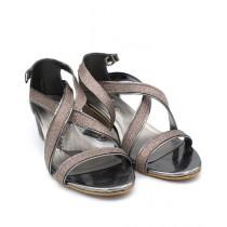 Toyo Shoes Heels For Women Gray (623)