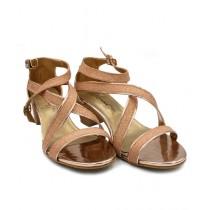 Toyo Shoes Heels For Women Peach (623)