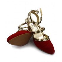 Toyo Shoes Heels For Women Red (1090)