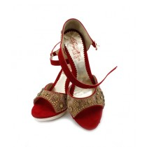 Toyo Shoes Heels For Women Red (665)