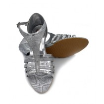 Toyo Shoes Heels For Women Silver (1008)
