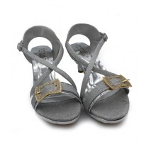 Toyo Shoes Heels For Women Silver (1034)