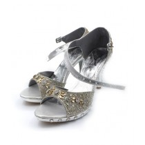 Toyo Shoes Heels For Women Silver (620)