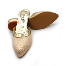 Toyo Shoes Khussa For Women Golden (001)