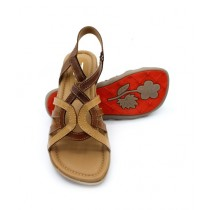 Toyo Shoes Strappy Sandals For Women Brown (710)
