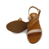 Toyo Shoes Strappy Sandals For Women Fawn (701)