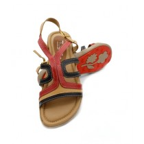 Toyo Shoes Strappy Sandals For Women Fawn (709)