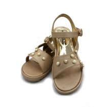 Toyo Shoes Strappy Sandals For Women Golden (711)