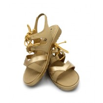 Toyo Shoes Strappy Sandals For Women Golden (712)