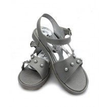 Toyo Shoes Strappy Sandals For Women Gray (711)