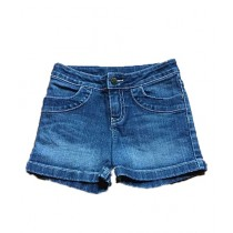 TradeTown Denim Short For Women Blue (TT-17)