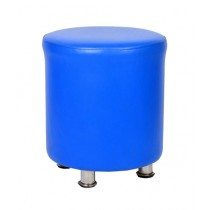Traditions Pk FLORA Fancy Round Stool Blue