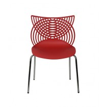 Traditions Pk RAYS Interior Chair Red
