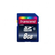 Transcend 8GB SDHC Memory Card (TS8GSDHC10)