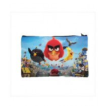 Traverse Angry Bird Digital Printed Pencil Pouch