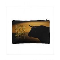 Traverse Bull Digital Printed Pencil Pouch