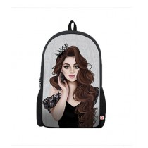 Traverse Girl's Digital Printed Laptop Backpack (0097)