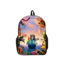 Traverse Kids Bag Cloudy Digital Printed School Backpack (0099)