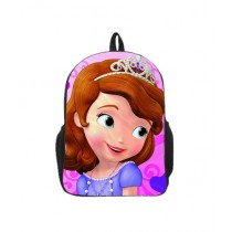Traverse Kids Bag Princess Sofia Digital Printed School Backpack (0131)