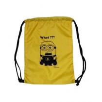 Traverse Minion Drawstring Bag Yellow (0220)