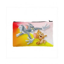 Traverse Tom & Jerry Digital Printed Pencil Pouch