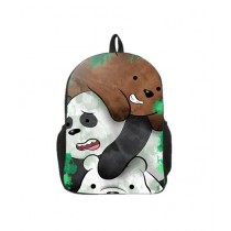 Traverse We Bare Bears Digital Printed School Backpack (0134)