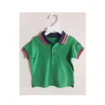 Treasure World Mother Care Polo T-Shirt For Boys Green