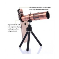 M.Mart Tripod And 20X Zoom Lens For Mobile