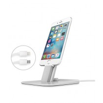 Twelve South HiRise Deluxe Charger For iPhone and iPad - Silver