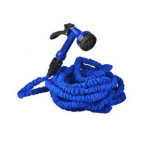Versatile Hose Pipe For Garden & Car Wash Blue