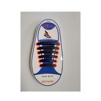 Viral Accessories Silicone Shoe Laces (0008)