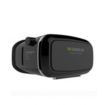 VR Shinecon Virtual Reality 3D Glasses Black