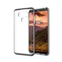 VRS Design Crystal Bumper Series Dark Silver Case For LG G6