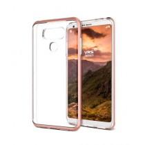 VRS Design Crystal Bumper Series Rose Gold Case For LG G6