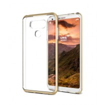 VRS Design Crystal Bumper Series Shine Gold Case For LG G6