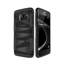 VRS Design Shine Guard Case Black for Galaxy S7 Edge