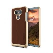 VRS Design Simpli Mod Series Brown Leather Case For LG G6