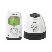 VTech Baby Audio Monitor with Temperature Sensor White/Gray (DM222)