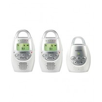 VTech Safe & Sound Baby Audio Monitor White (VT DM221-2)