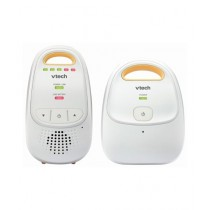 VTech Safe & Sound Baby Audio Monitor White/Yellow (DM111)