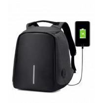 Waseem Electronics Anti Theft Laptop Bag With USB Charging Port Dark Grey (SMR-795)
