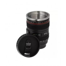 Waseem Electronics Camera Lens Coffee Mug Black