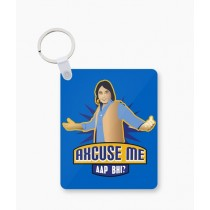The Warehouse Waseem Hassan Art Printed Key Chain (WHS-19)