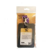 WBM World Badge Holder Set Black