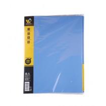 WBM World Clear Book A4 Holder - 30 Sheets