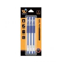 WBM World Gel Pen Blue Pack Of 3
