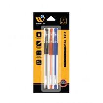 WBM World Gel Pen Multicolor Pack Of 3