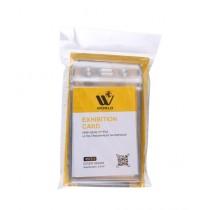 WBM World PVC Exhibition Card Holder Pack Of 12